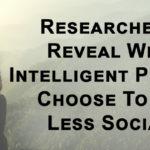 intelligent people less social FI