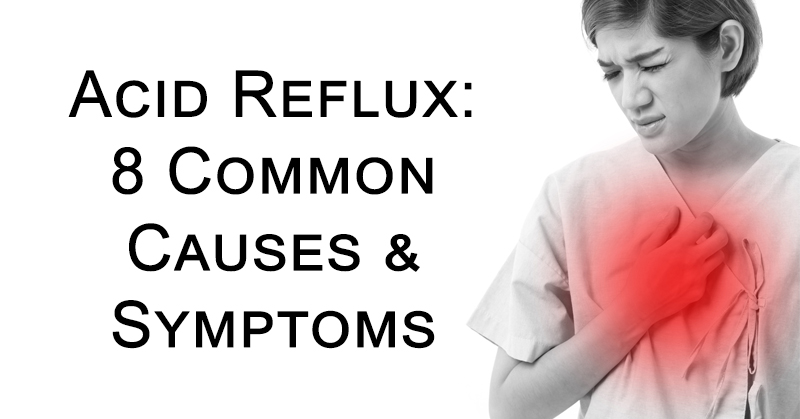what causes acid in reflux