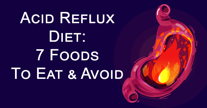foods to eat when you acid reflux