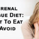 adrenal fatigue diet FI