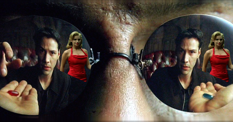 The Hidden Meaning Of The Matrix, The Woman In The Red Dress & How ...