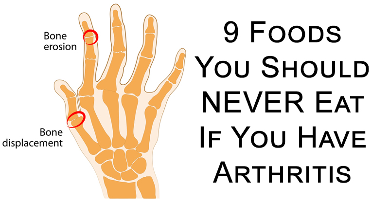 what to avoid if you have arthritis
