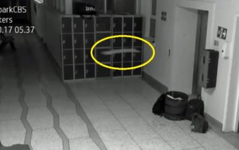 CCTV Footage Captures Ghost Activity In Irish School AGAIN!