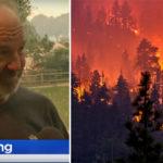 man wildfires FI