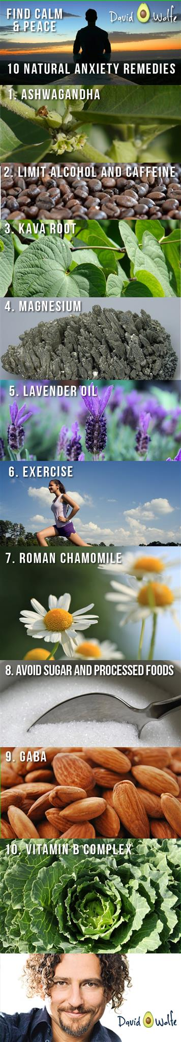 10 natural anxiety remedies