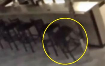 Security Camera Footage Captures Paranormal Activity In Local Bar