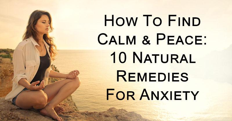 remedies anxiety FI