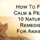 remedies anxiety FI