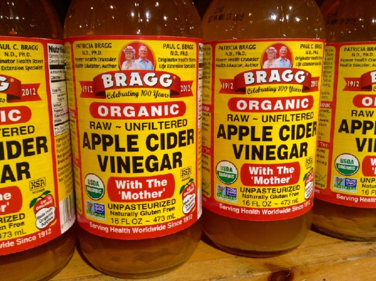 poison ivy apple cider vinegar