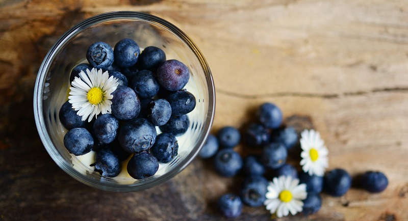 gastritis blueberries