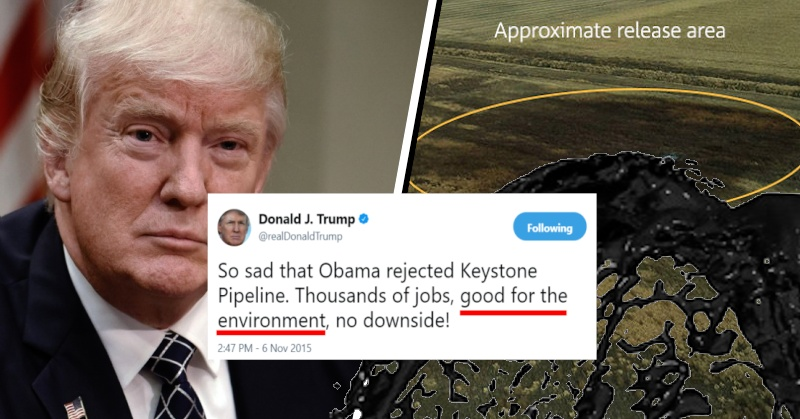 210,000 Gallons of Oil Burst From Keystone Pipeline in South Dakota - David Avocado Wolfe