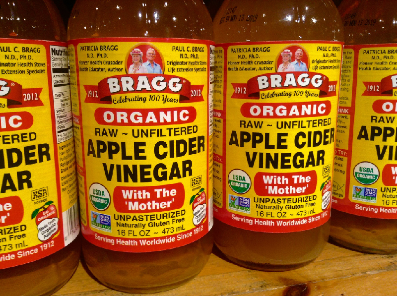 lymphadenitis apple cider vinegar