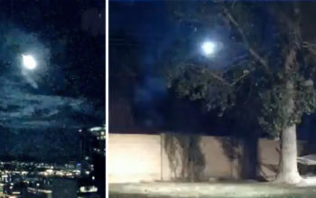 Mysterious Light Seen Over Phoenix, Arizona Confuses Residents