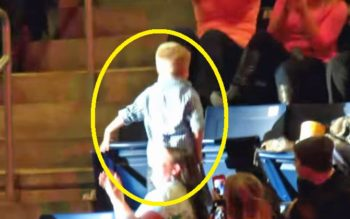 Little Boys Steals The Show At Concert & Everyone Loves It