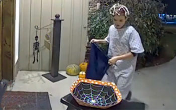Boy Sees Empty Bowl On Halloween & Does The Unbelievable