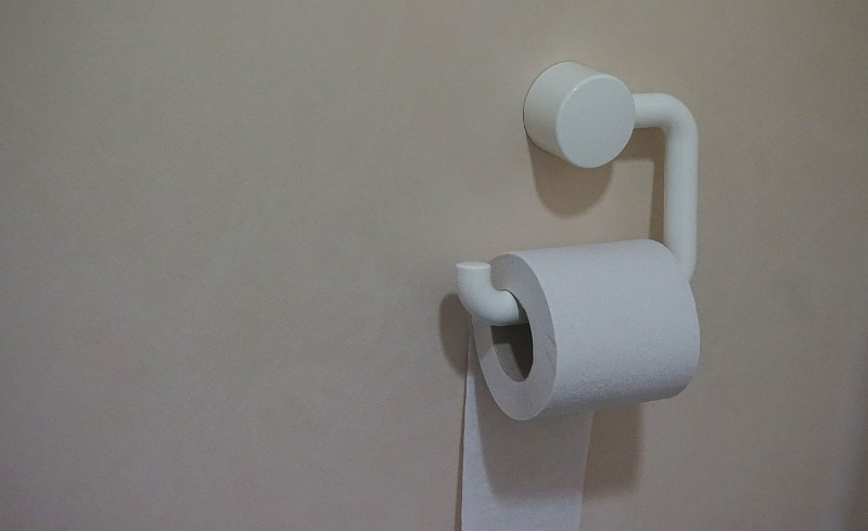enlarged prostate toilet paper