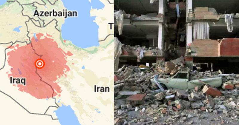 iraq earthquake FI