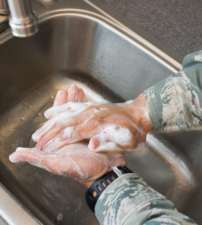 leptospirosis handwashing