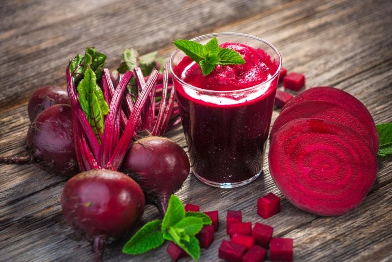 liver disease beet juice