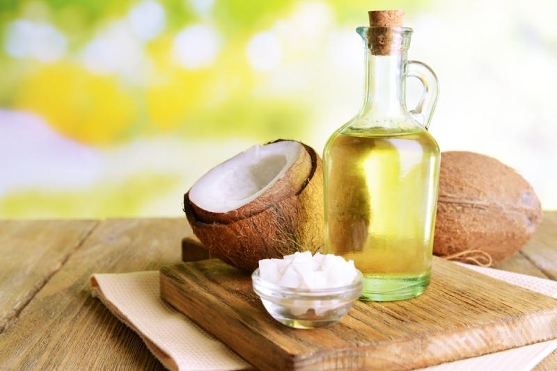 oral thrush coconut oil