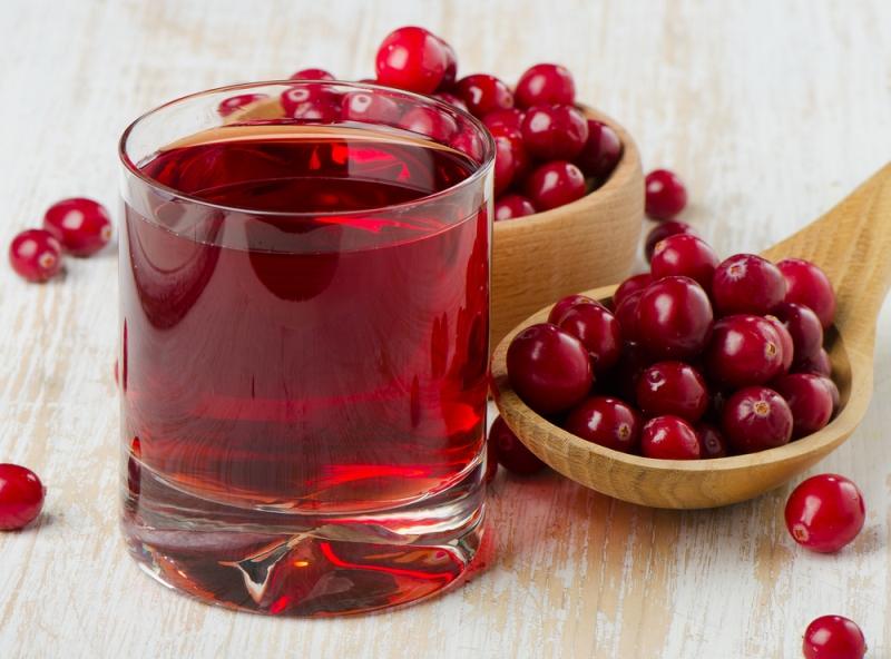 oral thrush cranberry juice