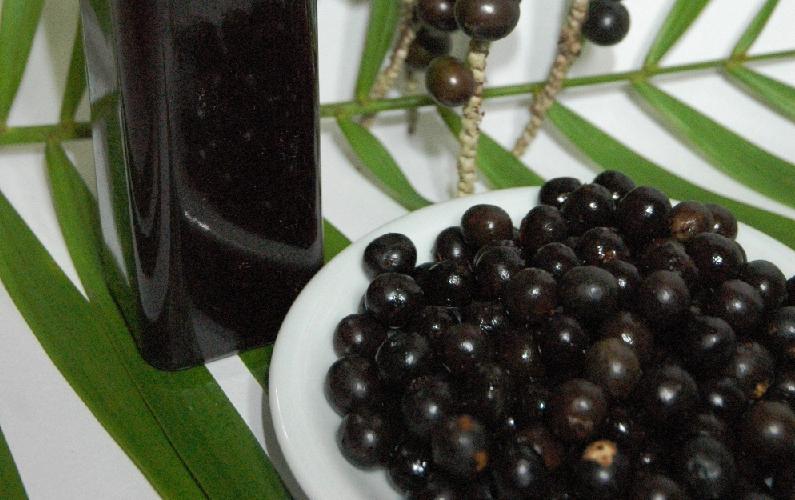 acai berry plate
