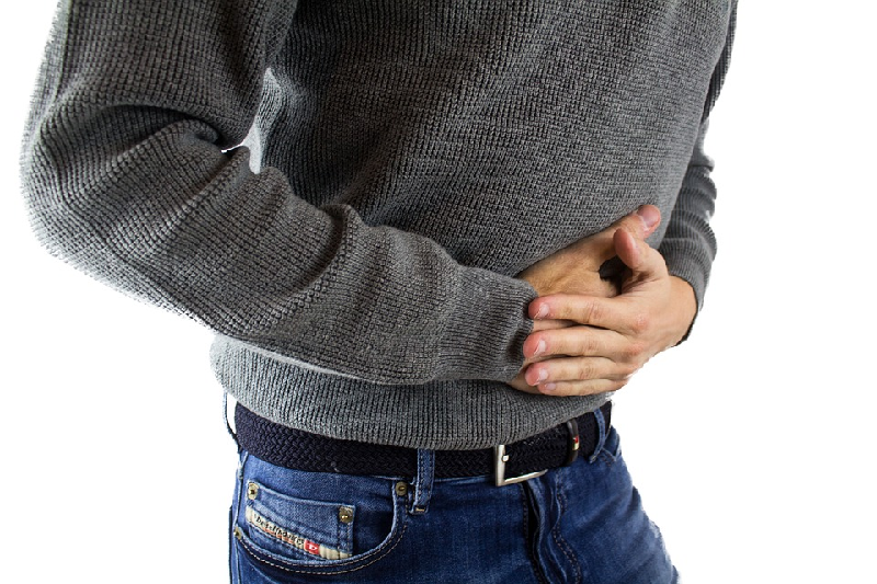 Benzoin essential oil stomach pain