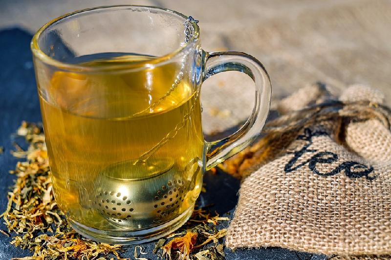 stomach flu herbal tea