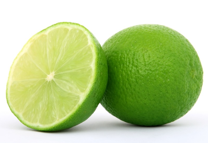 Lime essential oil fruit