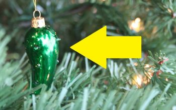 If You See A Pickle Ornament On A Christmas Tree, This Is What It Means!