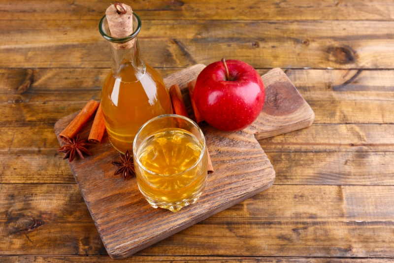 ringworm apple cider vinegar