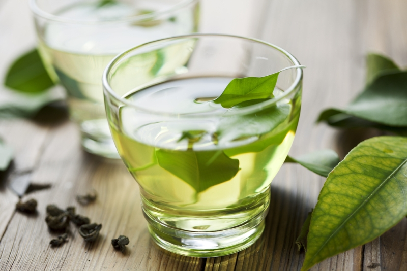 stroke green tea