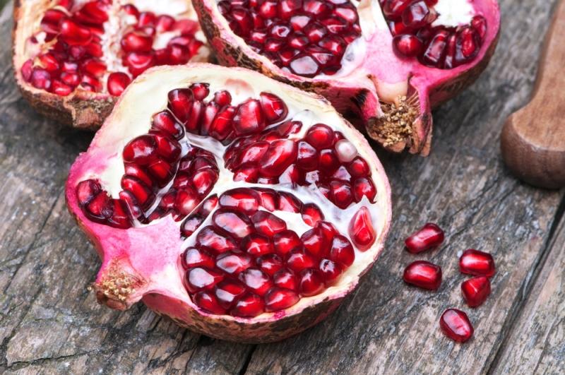 stroke pomegranate
