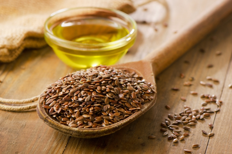 Tourette syndrome flax seeds