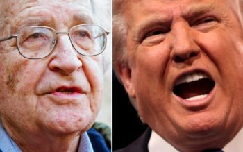 Noam Chomsky Argues Trump Is Being Used By The Deep State To Distract Us
