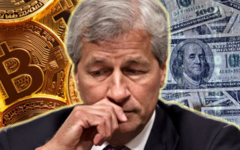 Jamie Dimon of JP Morgan Chase Claims Government Will Take Control Of Bitcoin