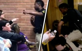 Teacher Dragged Away In Handcuffs For Questioning Controversial School Board Decision At Meeting