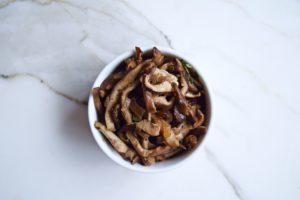 Sauteed Shiitake Mushrooms FI