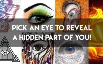 Pick An Eye To Reveal A Hidden Part Of You!