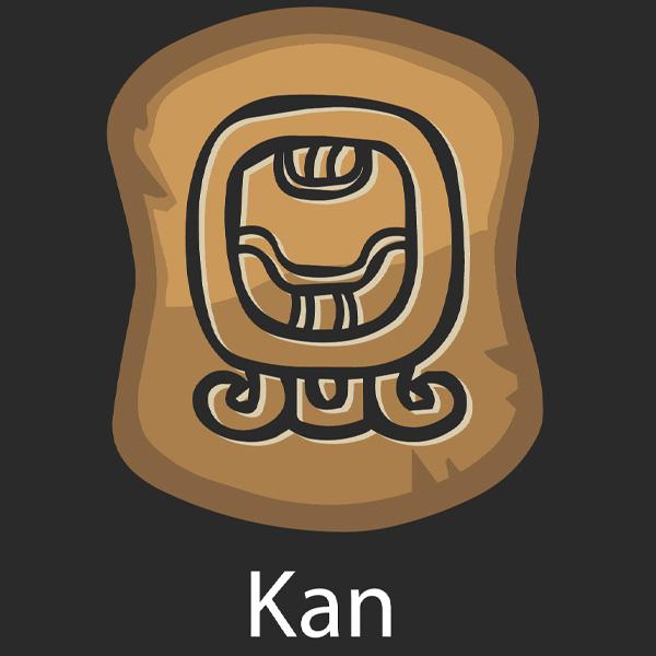 Mayan Day Sign Cauac